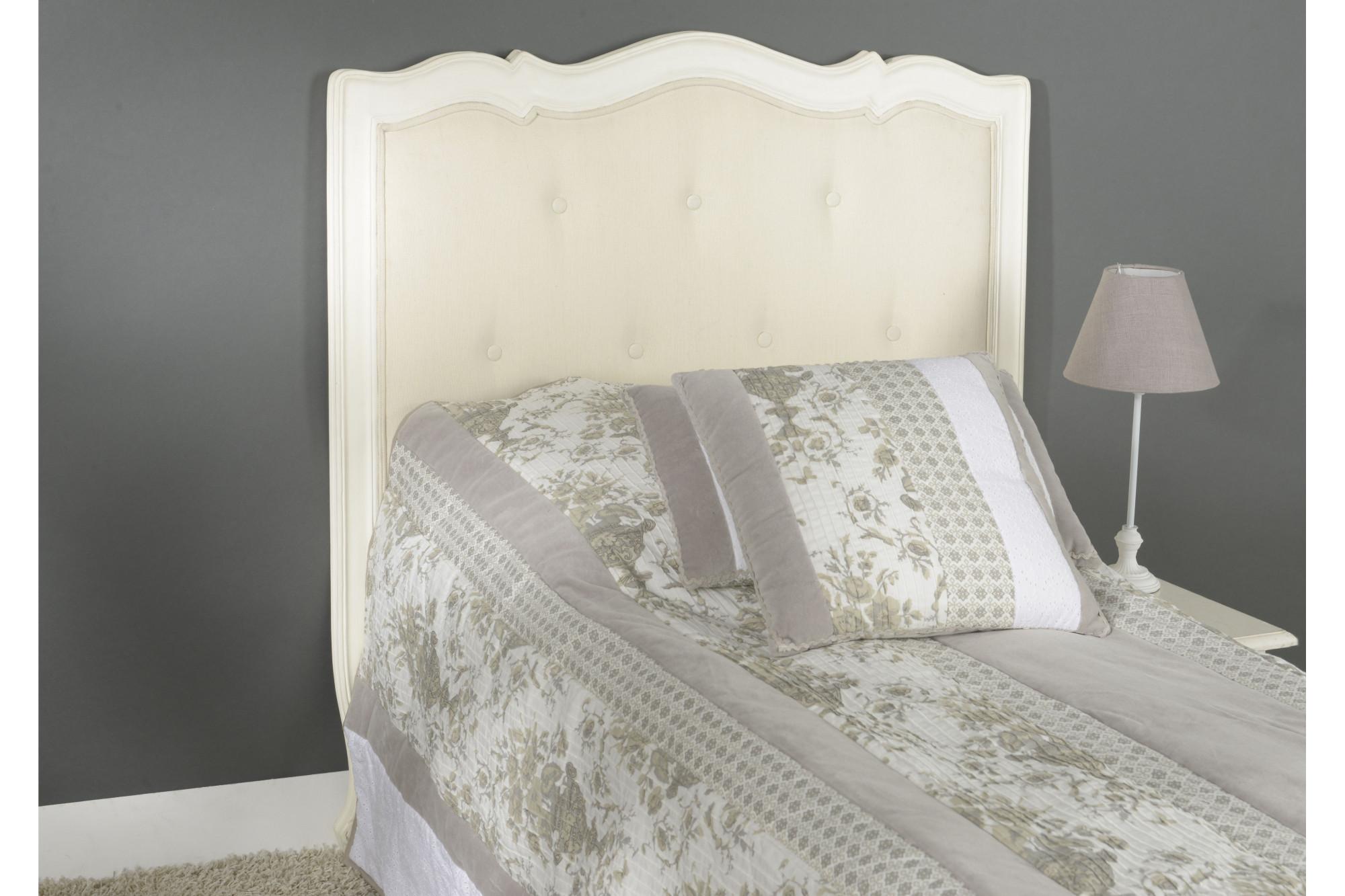 tête de lit muriane blanc