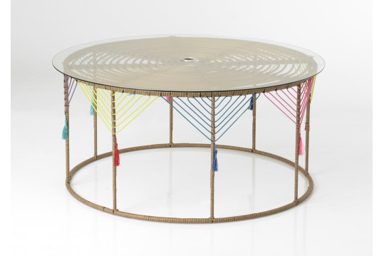 TABLE BASSE RONDE KAHLO