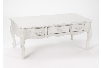 Table basse 3 tiroirs Arpen