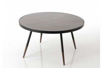 Grande table basse ronde Hoffman