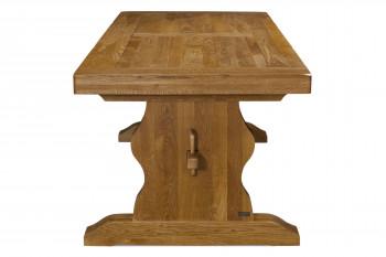 table monastère en bois de chêne massif