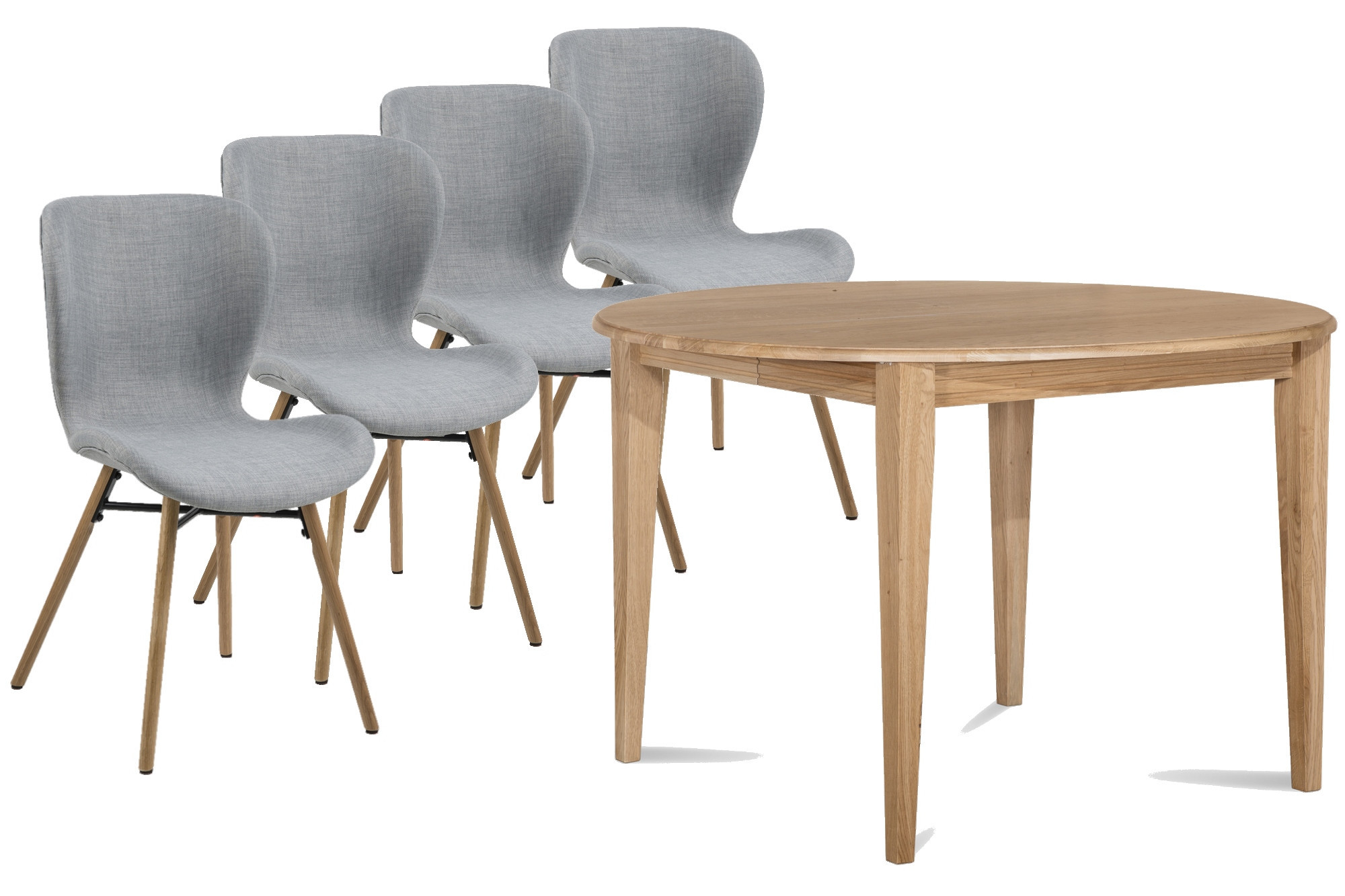 Table Ronde 4 Chaises