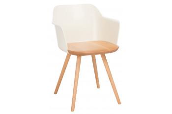 Chaises en bois rétro - INNA (Lot de 2)