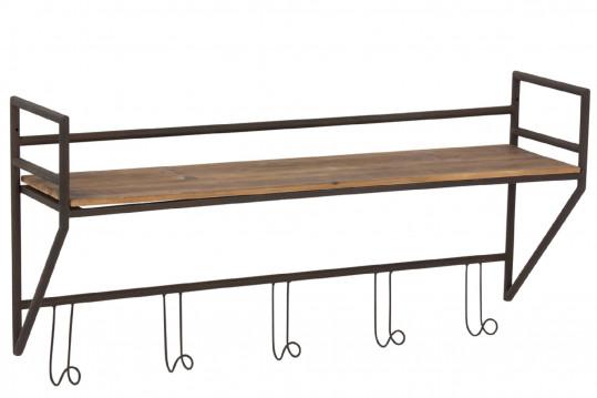 Porte-Manteau bois et métal