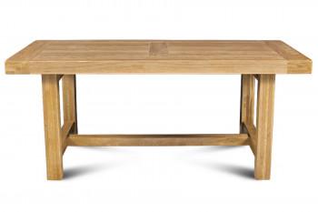 Table de ferme campagnarde - bois chêne massif L180
