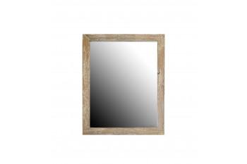 Miroir de salle de bain en bois - 65 cm - HANOÏ
