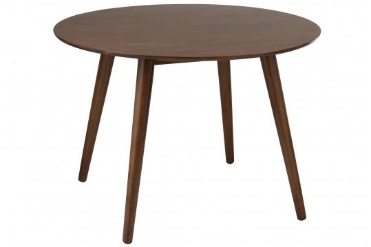 Table ronde en bois - SEVENTIES