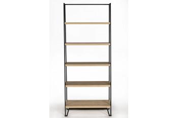 Bibliothèque moderne en bois métal - BRIGHTON