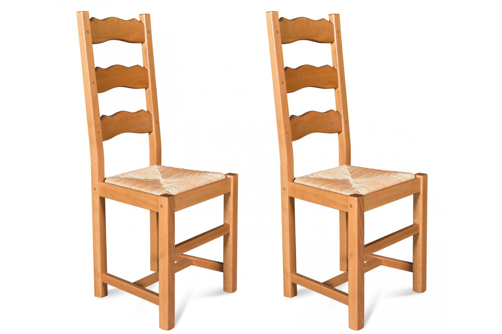 Assise de chaise en paille pour chaises en bois - Hellin