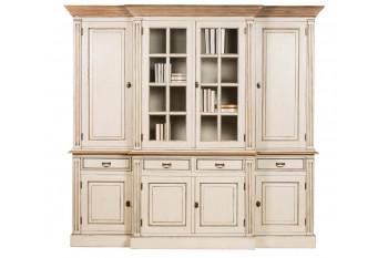 Vaisselier 6 portes et 2 portes vitrées en bois - Capucine