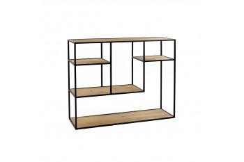 Bibliothèque en bois et métal - SENTIEL