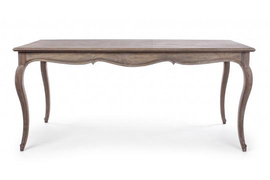 Table de salle à manger en bois baroque - TANAGRA