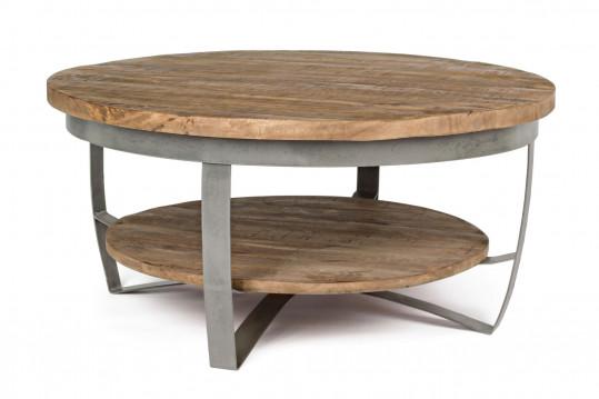 Table basse en bois et métal - COSTALE