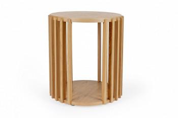 Bout de canapé en bois chêne - DUBLIN