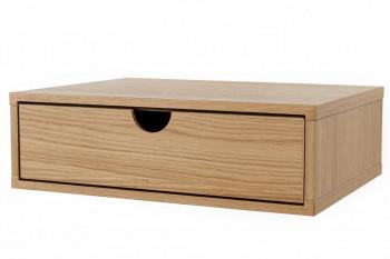 Chevet suspendue en bois - RIBE