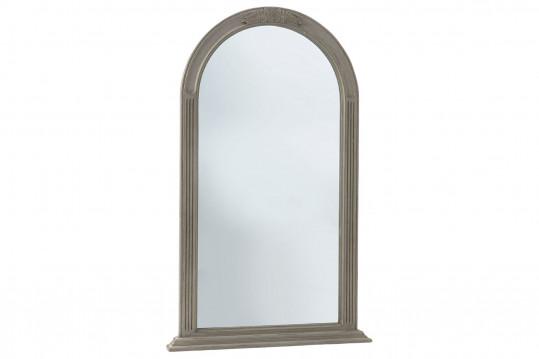 Miroir arrondi en bois patiné ANTOINETTE