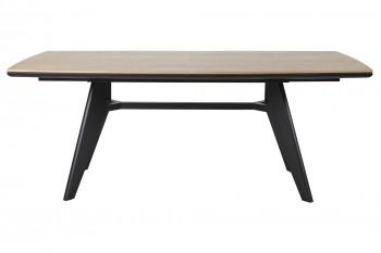 Table à manger en bois et métal extensible L200/290 CHELSEA