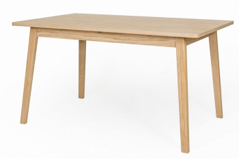 Table rectangulaire extensible en chêne L140/180 - MORA