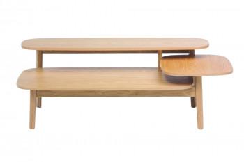 Table basse déstructurée en bois - HELSINKI