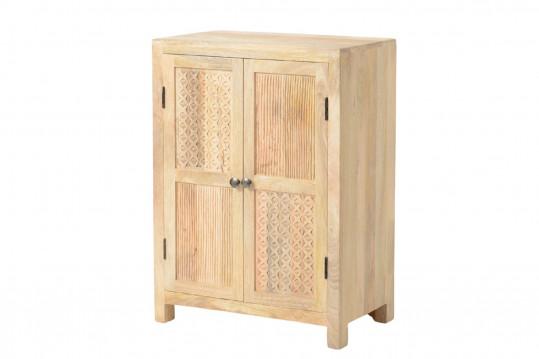 Armoire en bois 2 portes - Ethnique