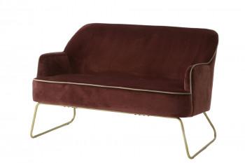 Canapé en velours - SMOOK