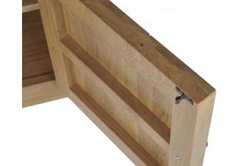 Fixation intérieure de la porte du meuble tv en bois massif Victoria