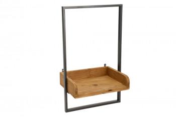 Étagère en bois et métal L30 - DINA