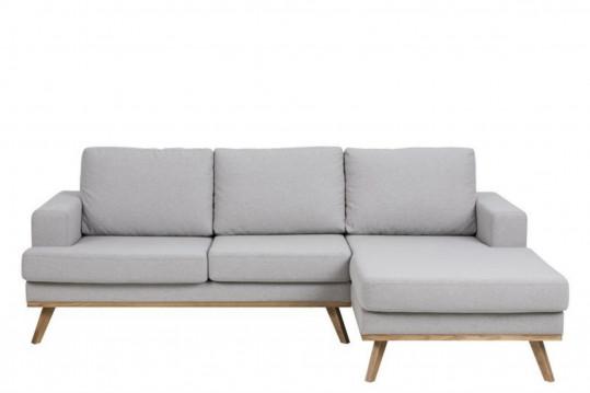 Canapé d'angle à droite en tissus - SWEDISH