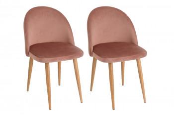 Chaise en velours (lot de 2) - VINCI
