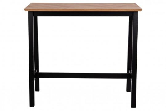 Table haute rectangulaire en bois L120 - STELLA