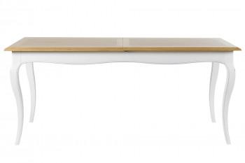OCCASION Table de salle à manger extensible en bois L180/260 - VICTORIA