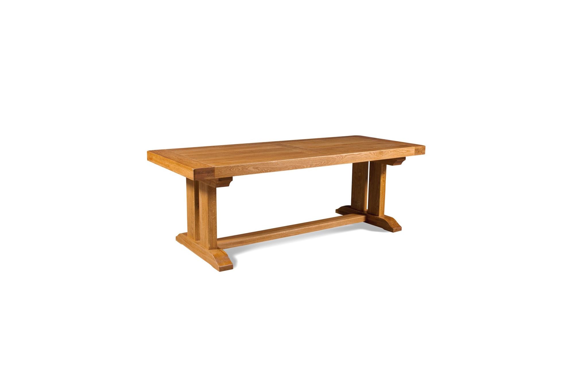 Massif D'occasion Hellin Chêne Table Modèle En mN0Oy8vnw