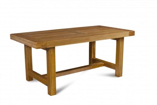 Table de ferme campagnarde - bois chêne massif
