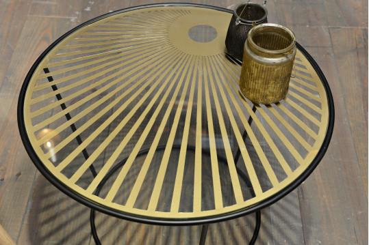 Table basse Soleil