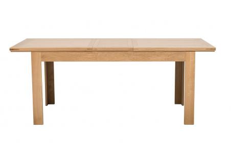 Table De Salle A Manger Moderne Extensible En Chene Hellin