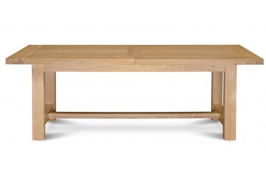OCCASION Table extensible  MANSART - bois chêne clair massif