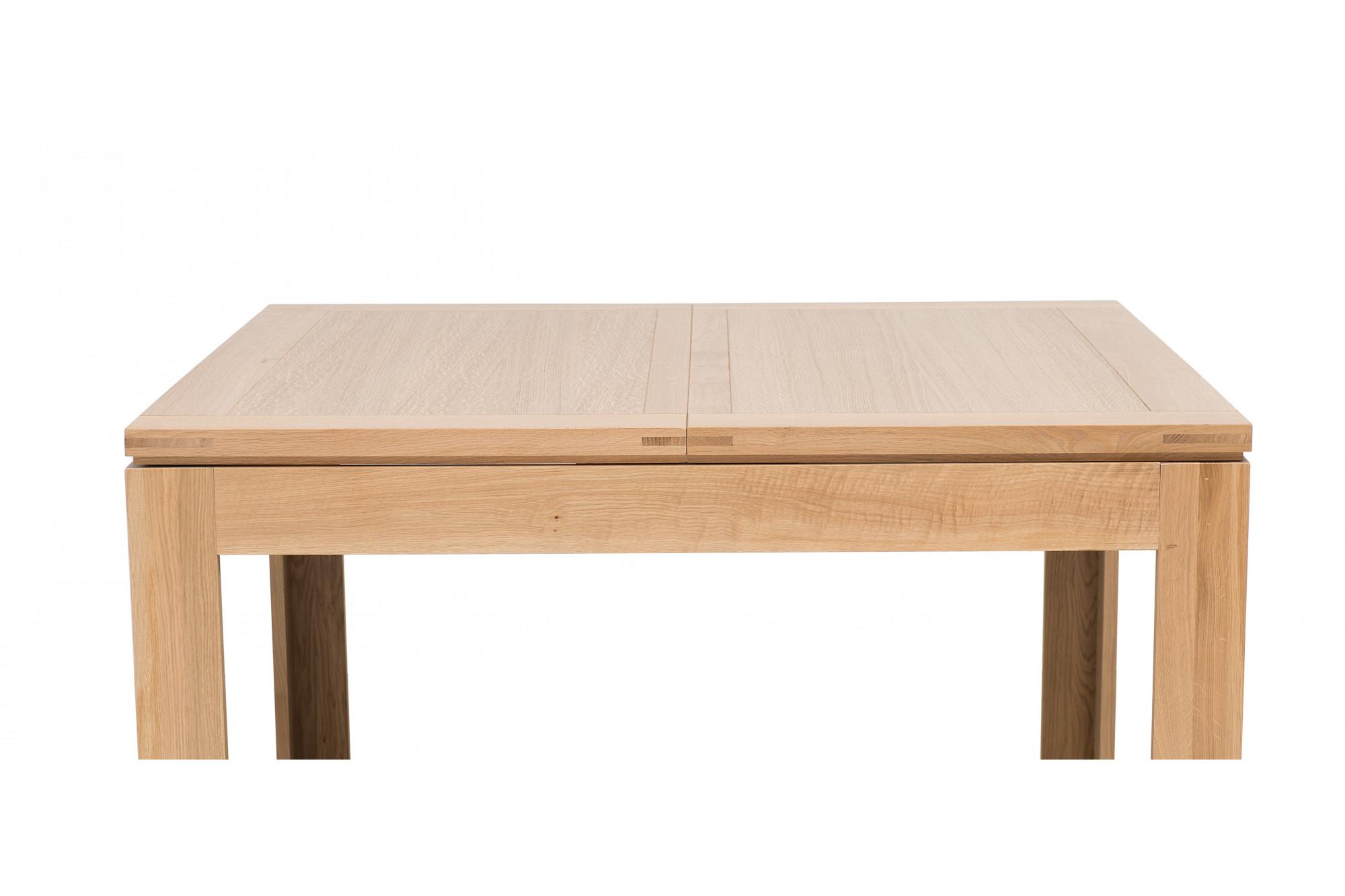 Table En Bois Chene Clair chêne chêne boston en table carrée clair manger à f7yybvg6