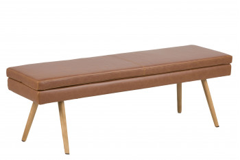 Banc design moderne Tobac en simili