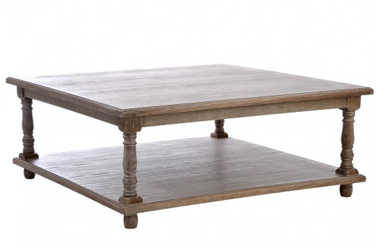TABLE BASSE CARRE LARGE