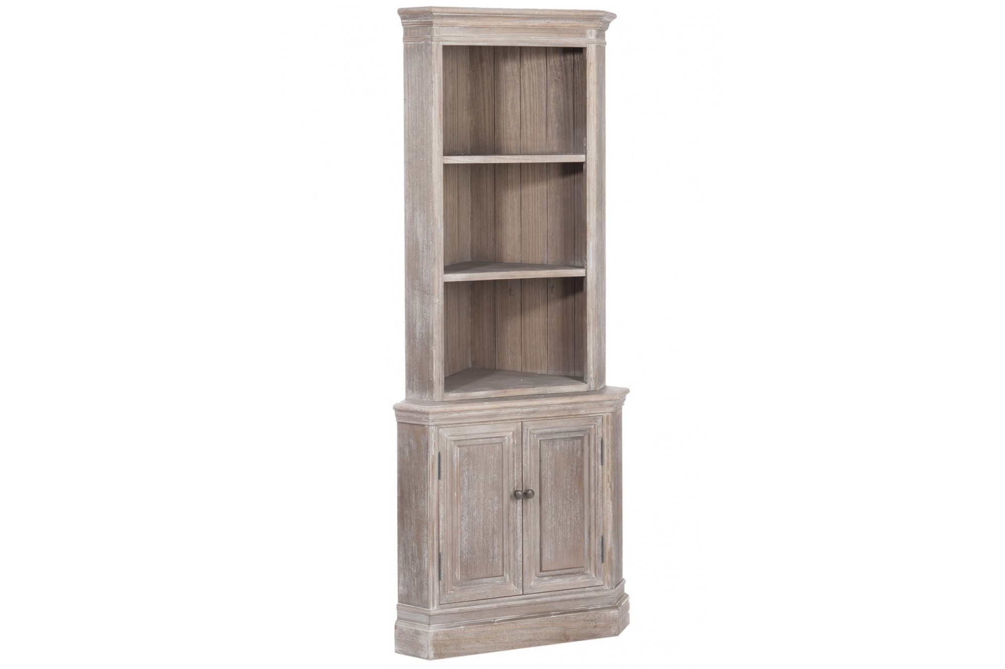 vaisselier d 39 angle en bois hellin. Black Bedroom Furniture Sets. Home Design Ideas