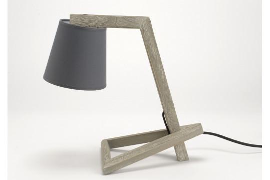 LAMPE DE BUREAU SUZANE GRISE