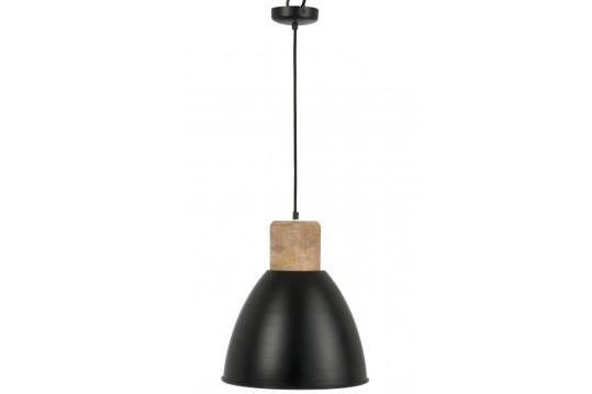 Luminaire suspendu bois et métal